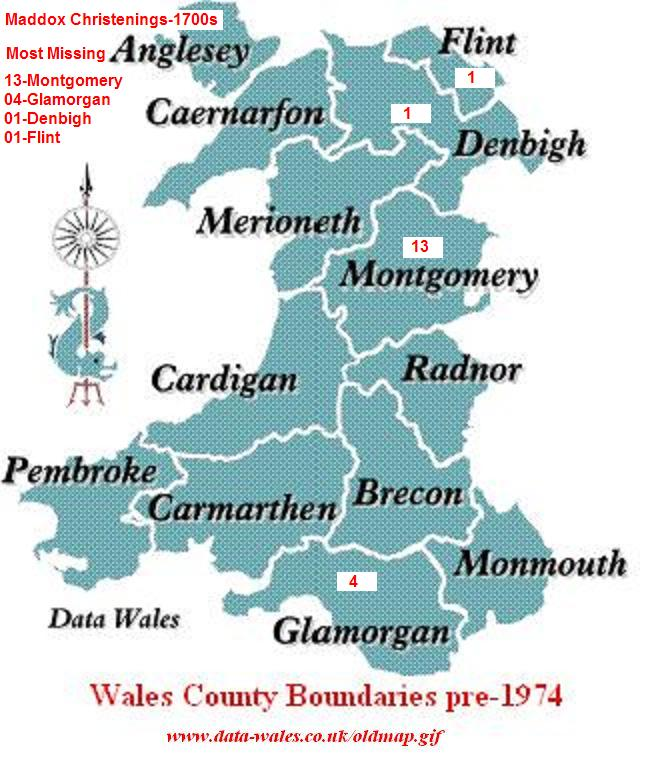Map Of England Counties 1600s.Christenings