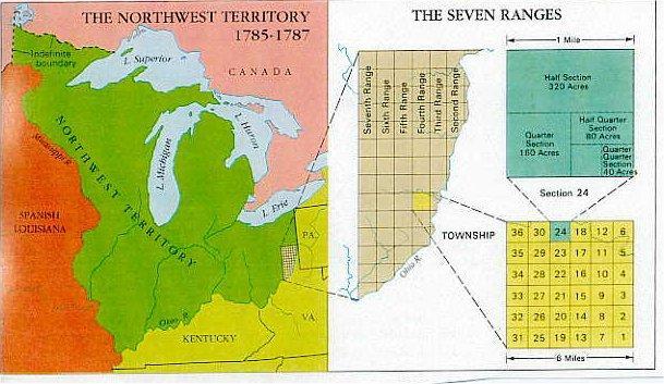 Map Of Us Northwest Territory